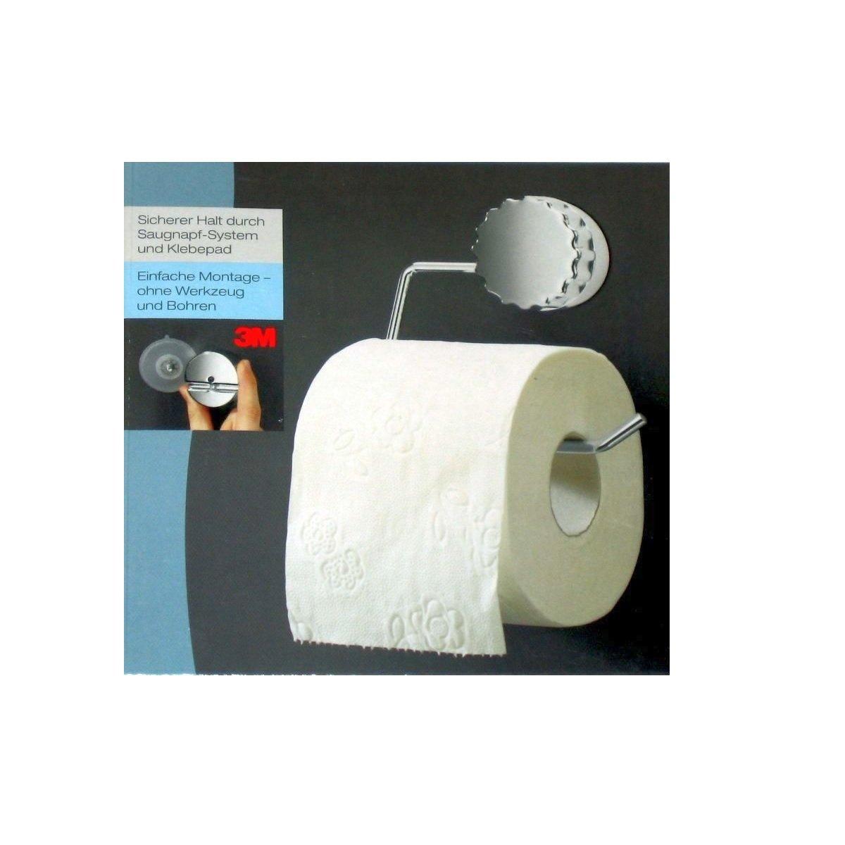 toilettenpapierhalter mit saugnapf system befestigung ohne bohren ... - Badezimmerzubehör Ohne Bohren