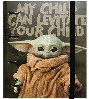 The Mandalorian A4 ERIK Bloc planificador semanal Baby Yoda