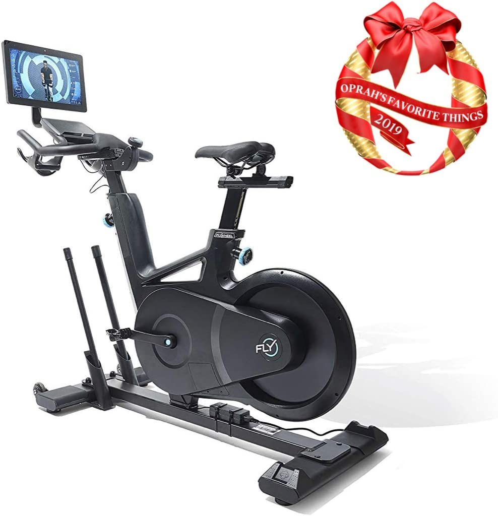 Flywheel Home Exercise Bike with Free Two-Month Subscription (Built-in Tablet