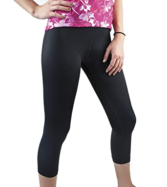Women's Spandex Compression Capri Made in USA at Amazon Women's ...