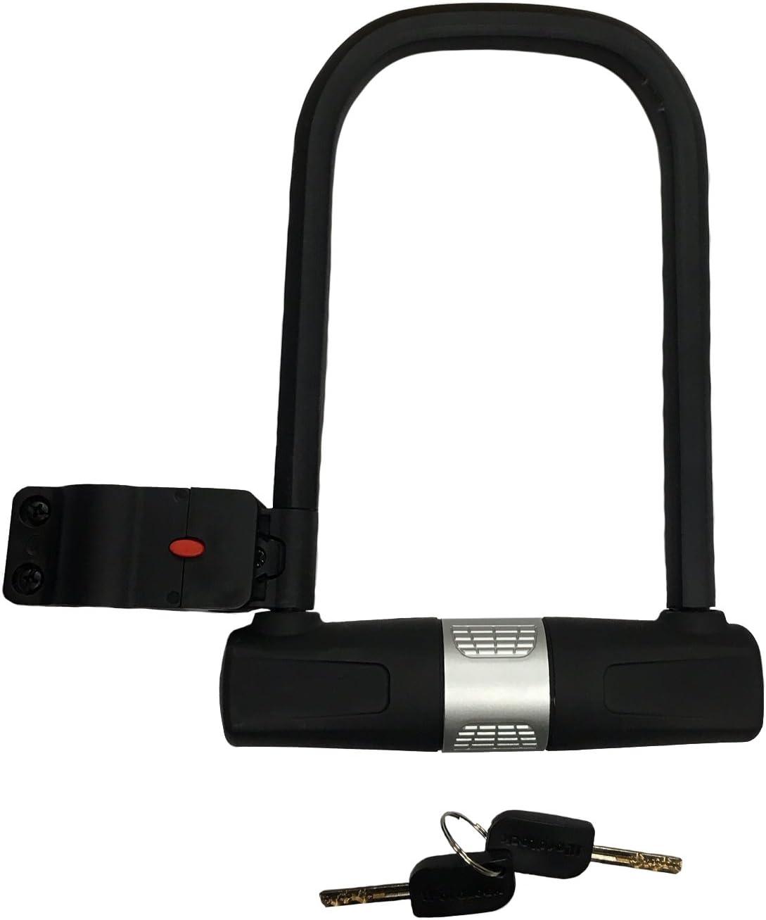 Metal Bicycle Lock Universal Bike Anti Theft Security Lock with 2 Keys #LY