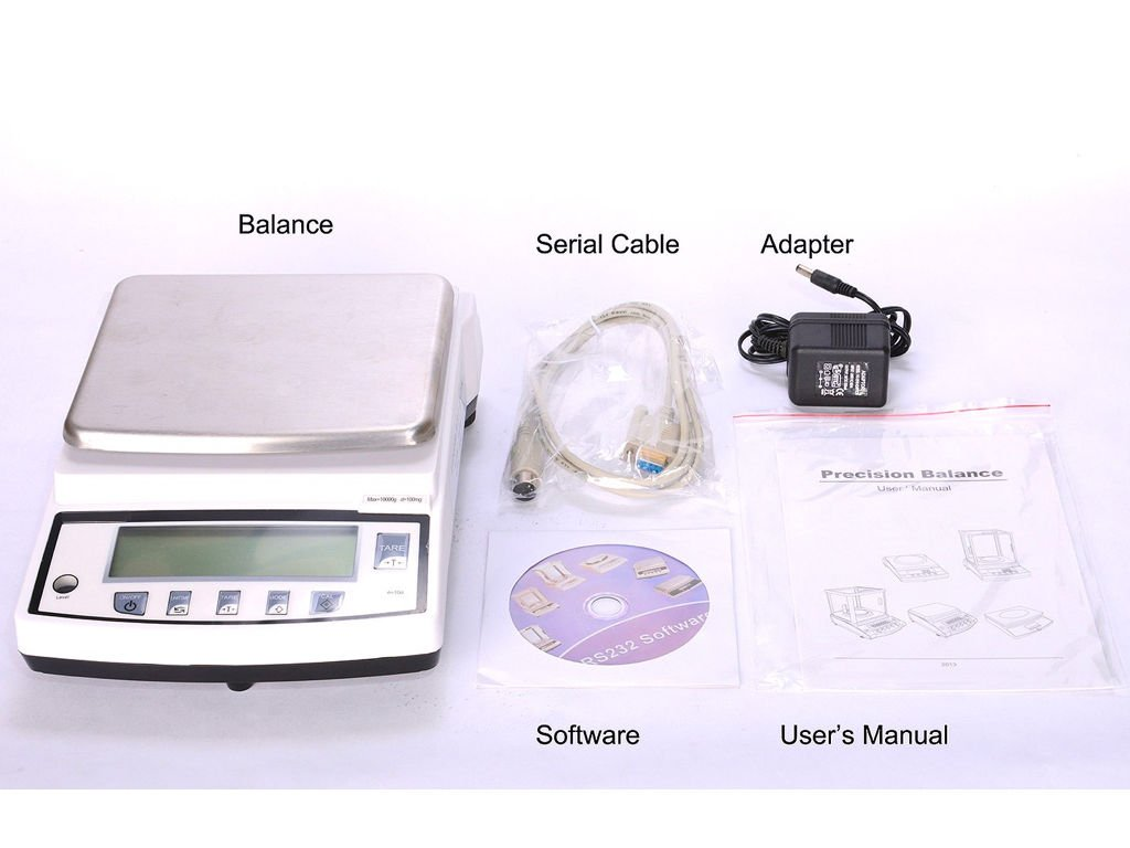 Selleton Ps-B1002 Balance Scale With 10 Weighing Units/ 2000G X 0.01G/ School, Lab, Table