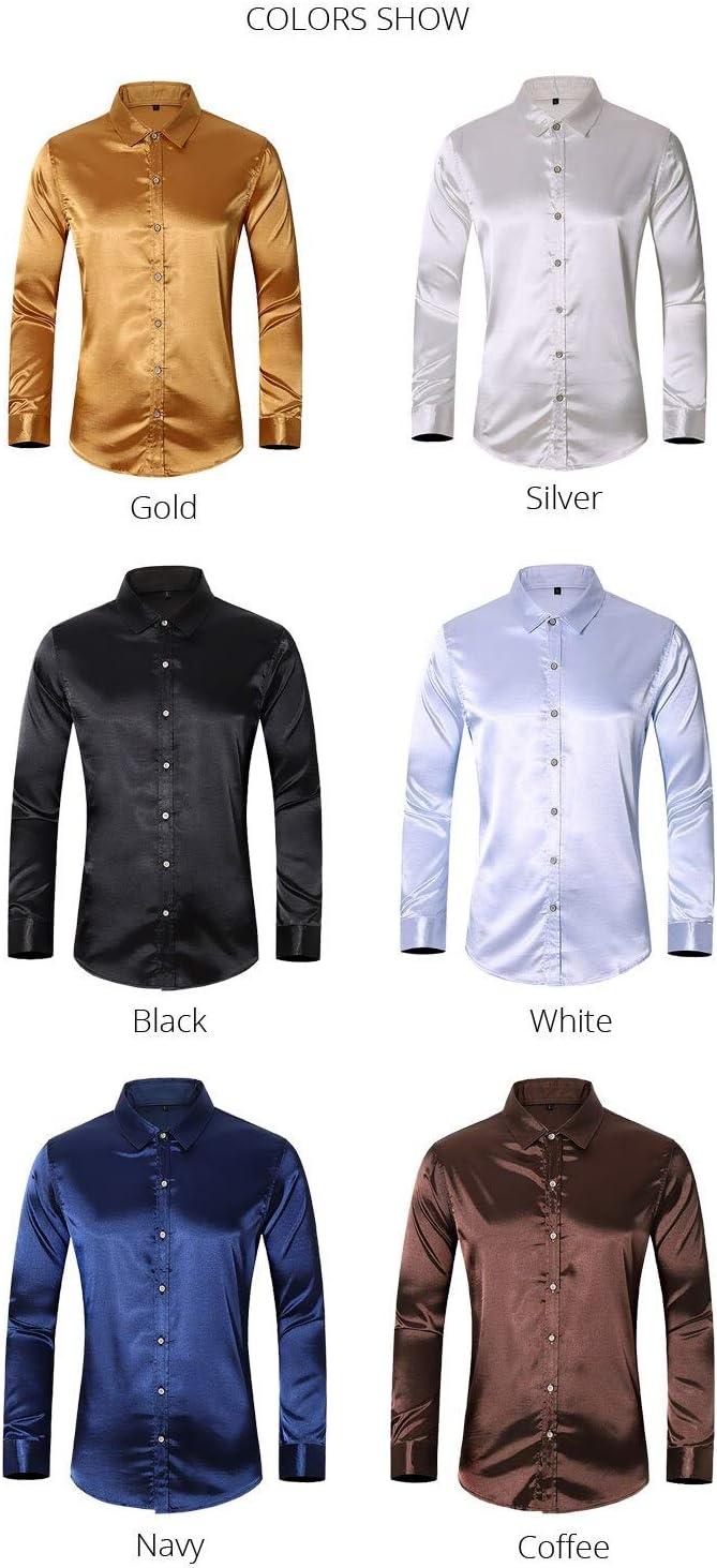 Camisa Otoño Nuevas Camisas para Hombre De Manga Larga con ...