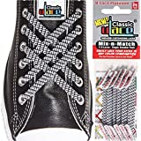U-Lace Classic Woven's Mix-n-Match No-Tie Laces (2-Pack)