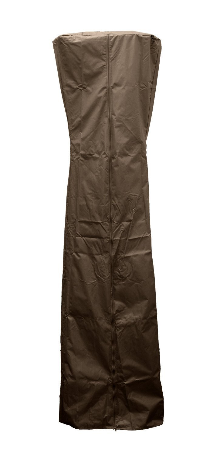 Golden Flame Full Length Cover (Mocha-Brown) for 3-Sided Glass Tube Heaters
