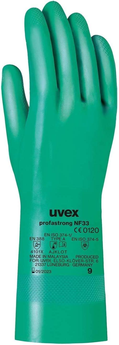 1 Paar Schwei/ßerhandschuhe 10//XL Uvex Top Grade 7200 Schutzhandschuhe