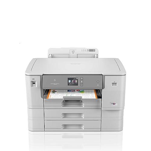 Brother HL J6000DW Impresora de Tinta A3 con impresión automática a Doble Cara WiFi NFC conexión móvil y Cloud Color Gris