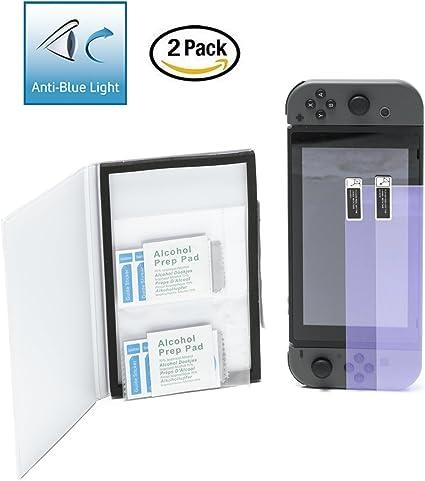 Fjordglass-Nordic® 2-Pack Protectores de Pantalla para Nintendo ...