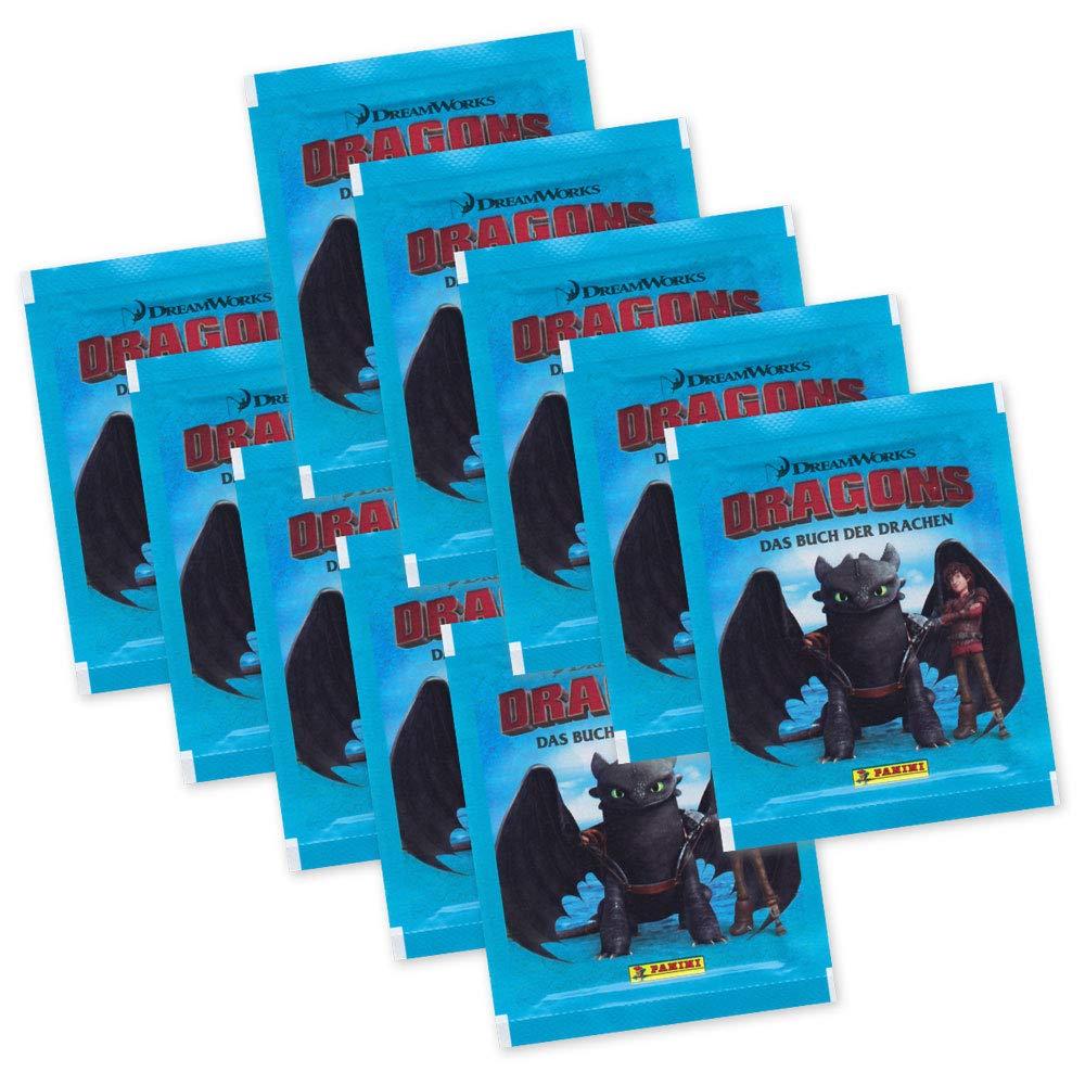 Sticker 50 Das Buch der Drachen Dragons Panini