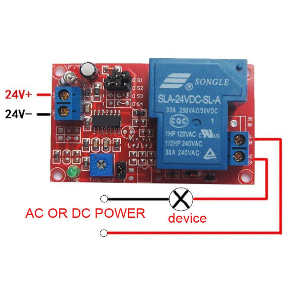 Digital Cycle Delay Timer Switchyeeco Dc 5v 12v 24v Timing Relay Power Off Switch18