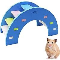 WishLotus Hamster Rainbow Bridge, Hamster Climb and Play Toy, Boredom Breaker Colorful Small Animal Activity Toy, DIY…