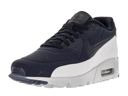 the best sneakers classic Nike - Air Max 90 Ultra Moire - Couleur: Blanc-Bleu marine ...