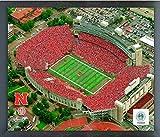 Memorial Stadium Nebraska Cornhuskers NCAA Photo (Size: 17'' x 21'') Framed