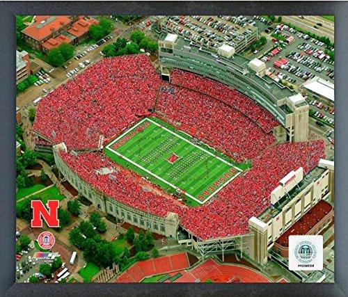 Nebraska Cornhuskers Framed (Memorial Stadium Nebraska Cornhuskers NCAA Photo (Size: 17