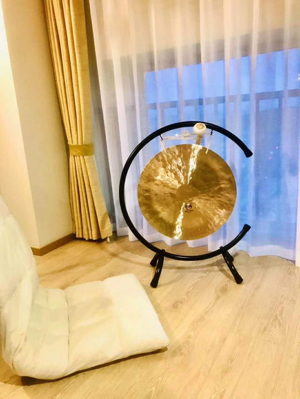 Convient pour Bande Son op/éra Bande Originale Temple Orchestre de Bande Vent dorigine Gong Tam Tam Gong etc,70cm de la m/éditation