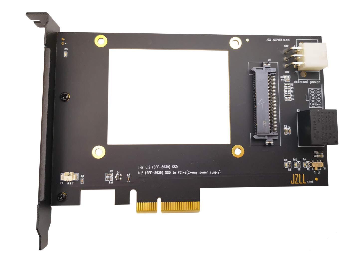 JZLL U.2 NVMe SSD PCIe Card U.2 PCIe (SFF-8639) a PCI-E X4 3.0 ...