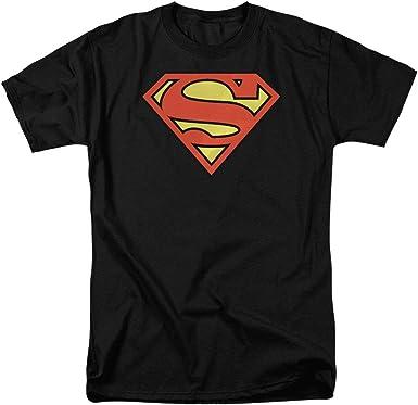 5XL Lot SUPERMAN T-SHIRT DC Comics Super Hero Classic Tshirt Stickers Sizes S