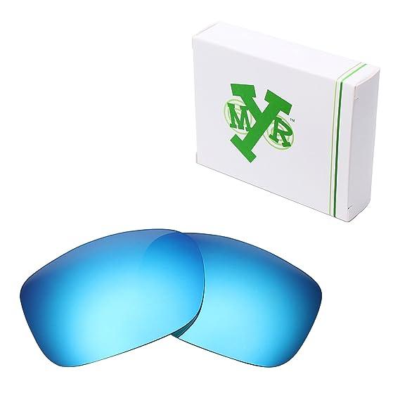 MRY - Lunettes de soleil - Homme multicolore Ice Blue-Polarized BbOGpdkMy