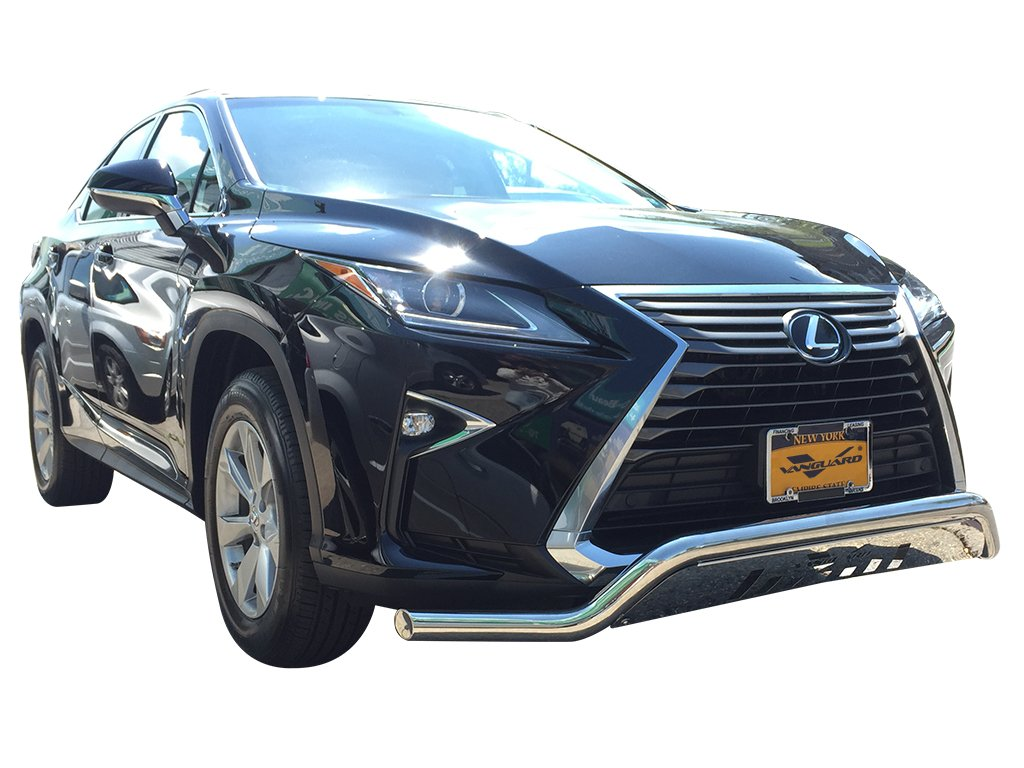 Vanguard VGUBG-1262SS 2016-2017 Lexus RX350 RX450H Except F-sport Front Lower Design Bull Bar With Skid Plate S//S
