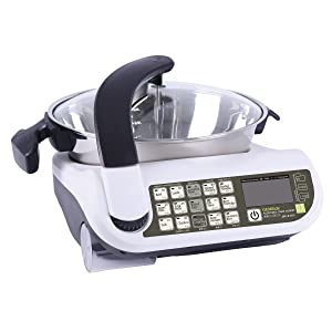 GEMSide E15A ( Updated from E151)New Technique Automatic Electric Meal Cooker Multifunctional Dishes Maker, 3.5Qt/1200W