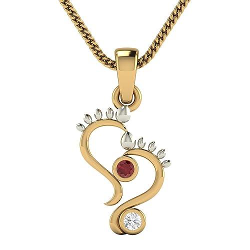 Avsar 14KT Yellow Gold Pendant for Women Pendants