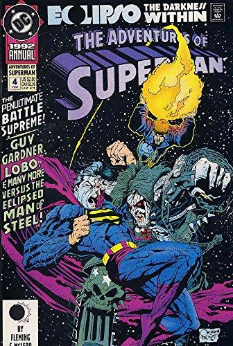 (Adventures of Superman Annual #4 VF/NM ; DC comic book)