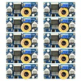 Gadgeter 10 pack XL4005E1 DC to DC Buck Converter 5-32V to 1.25-30V Power Supply Step Down Module