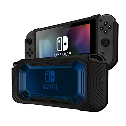 nintendo switch protection case heavy duty cover 2 card storage easy snap on - fortnite nintendo switch gratuit