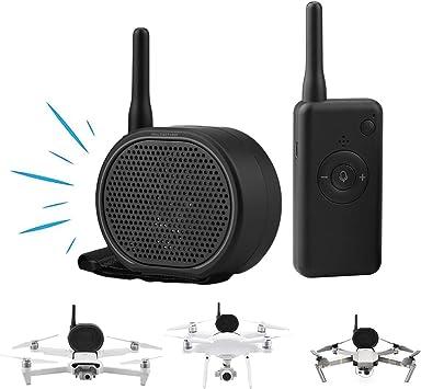 Opinión sobre O'woda Drone Megáfono Altavoz UAV ligero con distancia de control de 1,2 km sin interferencias Difusión aérea universal en tiempo real para DJI Mavic Mini/ Pro 2/ Mavic Air/ Phantom 3 4/ Xiaomi/Hubsan