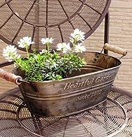 アンティーク調植木鉢