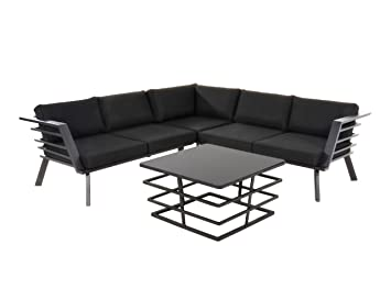 Lifestyle4living Lounge Gartenmöbel Set Aus Aluminium In
