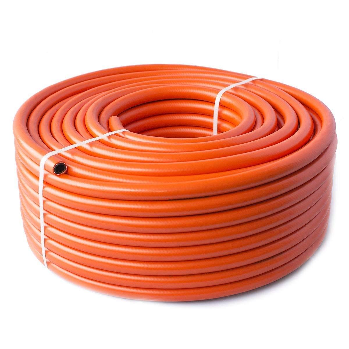 1.6m - Propane Butane LPG Gas hose pipe for Camping Caravan BBQ - High pressure - 8 mm Quantum Garden