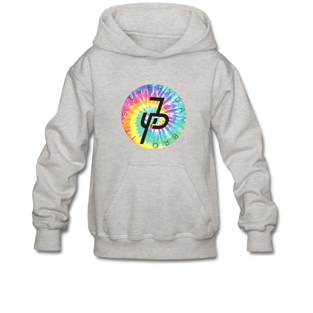 Aliensee Youth Jake Paul Rainbow Logo Hoodie Sweatshirt Suitable For 10-15yr Old