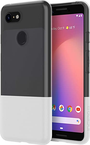 best sneakers 010e8 55df1 Incipio NGP Pixel 3 Case with Translucent, Shock-Absorbing Polymer Material  for Pixel 3 - Clear