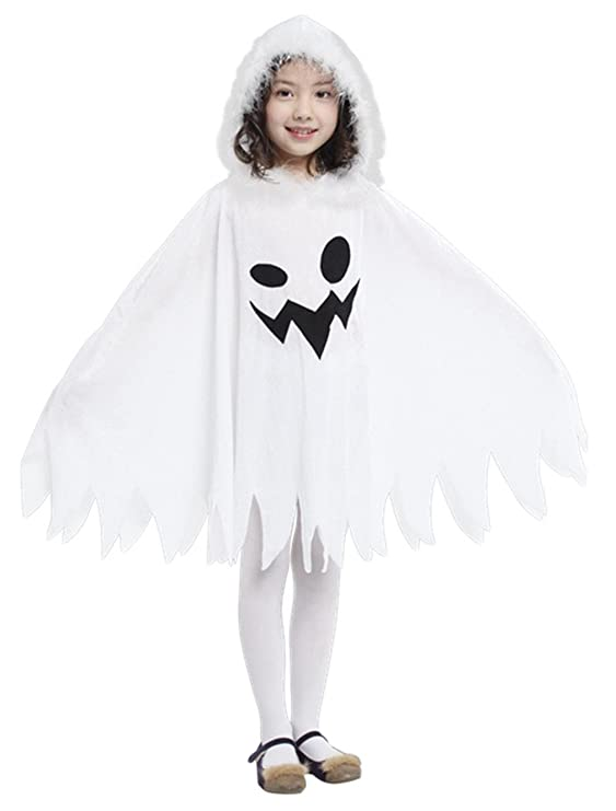 Amazon.com GIFT TOWER Girls Halloween Elf Costumes Fancy White Ghost Costumes Toys u0026 Games  sc 1 st  Amazon.com & Amazon.com: GIFT TOWER Girls Halloween Elf Costumes Fancy White ...