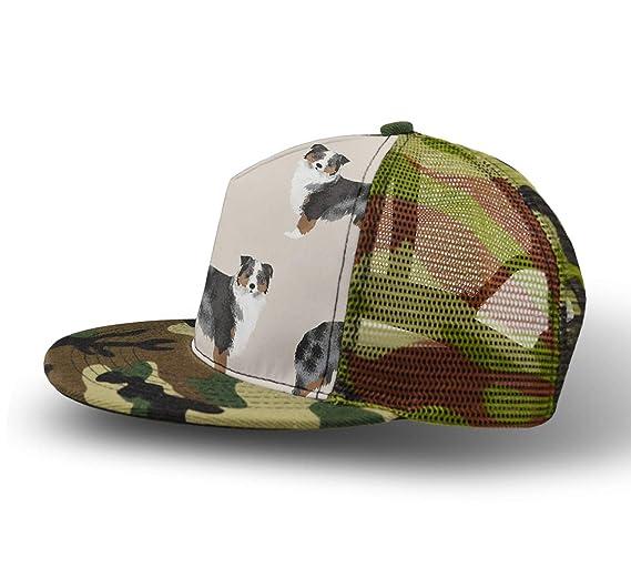 e183b11833260 Men Women Boys Girls Punk Rock Snapback Camouflage Hat Hip Hop Flat  Baseball Cap Breathable Outdoor