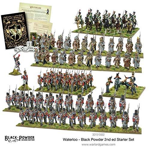 Black Powder Waterloo Second Edition Starter Set 19th Century Military Wargaming Plastic Model Kit (Was The Civil War A Second American Revolution)