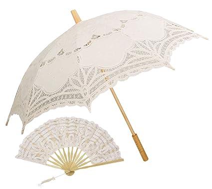 Amazon.  Lace Umbrella, Outgeek Parasol Umbrella Auto Open