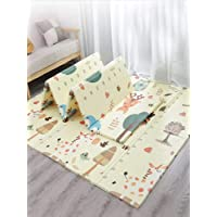 Non Slip BAby mat Portable baby playmat foldable XPE Baby Crawling Mat Thickening Environmental Protection Rug Playmat Double Surface Baby Carpet-180 * 200CM