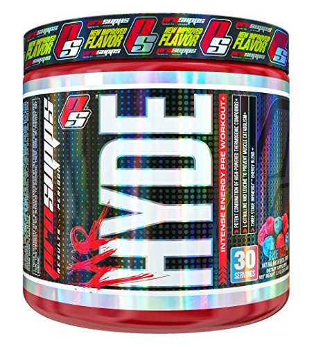 Pro Supps Mr. Hyde Intense Energy Pre-Workout Powder (Blue Razz Flavor), 30 True Servings, Ridiculous Focus, Massive Energy, Insane Muscle Pumps