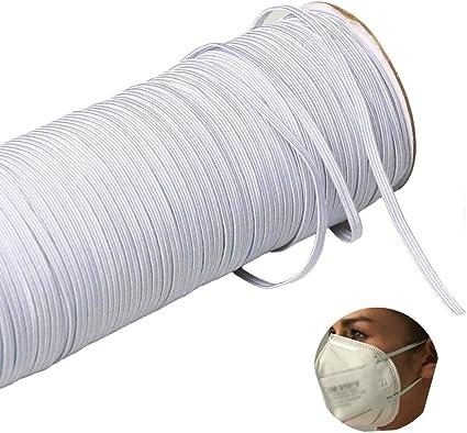 Amazon Com Myuren 200 Yards Length 1 8 Inch Width Braided Elastic