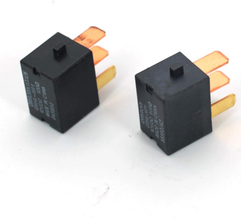 CENTAURUS 2 PCS A//C Compressor Relay Replace For ACURA ILX MDX NSX RDX RL RLX RSX TL TLX TSX ZDX//HONDA ACCORD CROSSTOUR CIVIC CR-V ELEMENT HR-V INSIGHT ODYSSEY PILOT RIDGELINE S2000 39794-SDA-A03