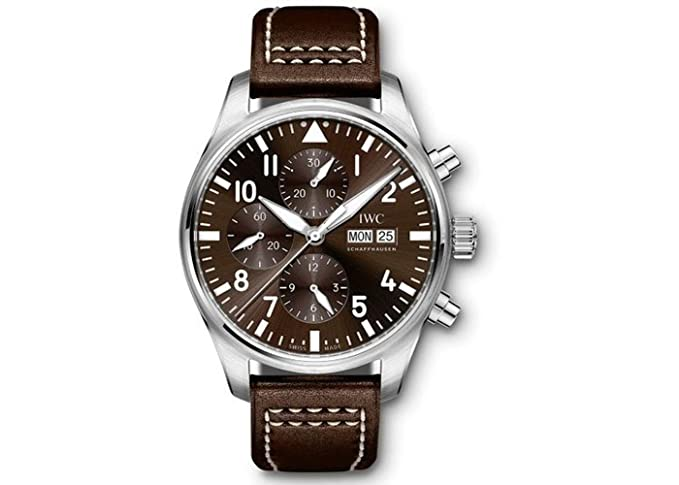 IWC Pilotos Antoine De Saint Exupery Cronógrafo Mens Reloj iw377713