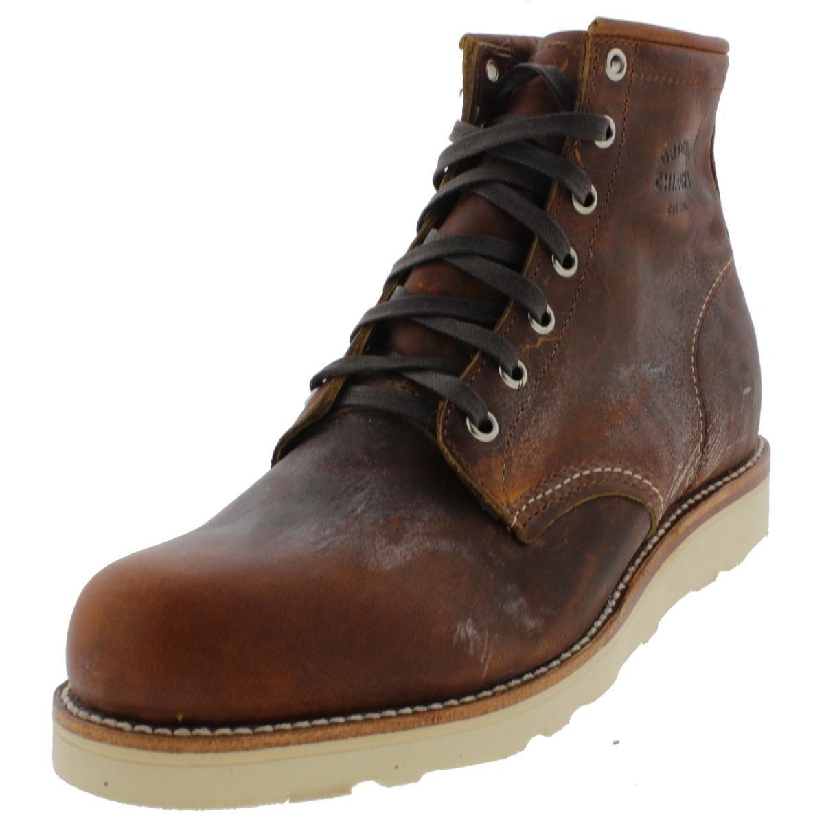 Original Chippewa Collection Men's 1901M17 6 Inch Plain Toe Boot, Tan Renegade, 8.5 D US