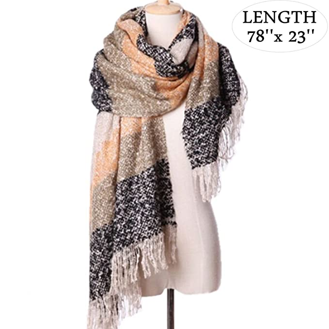 ca512c521 Winter Scarf Woman Ladies Girls Scarves Luxury Ladies Scarves Wraps Women  Warm Shawls For Women Triangle