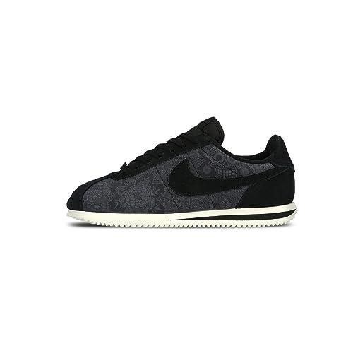 buy online 3ae9c d543b Nike Men s Cortez Basic PREM QS, Day of the Dead-BLACK BLACK-SAIL, 12 M US   Amazon.ca  Shoes   Handbags