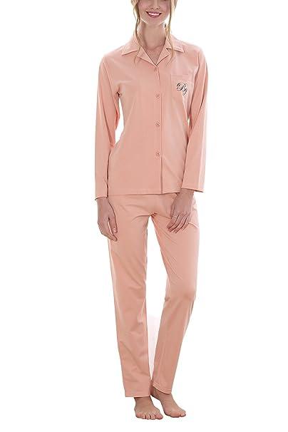 Dolamen Pijamas para mujer, Pijamas Mujer invierno, Mujer camisones Pijamas de parejas, 100