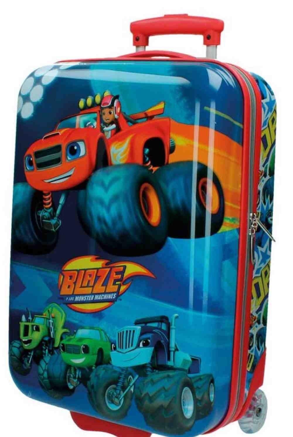 Blaze Kabinenkoffer Maschinen Kindergepäck, 34 Liter, Rot