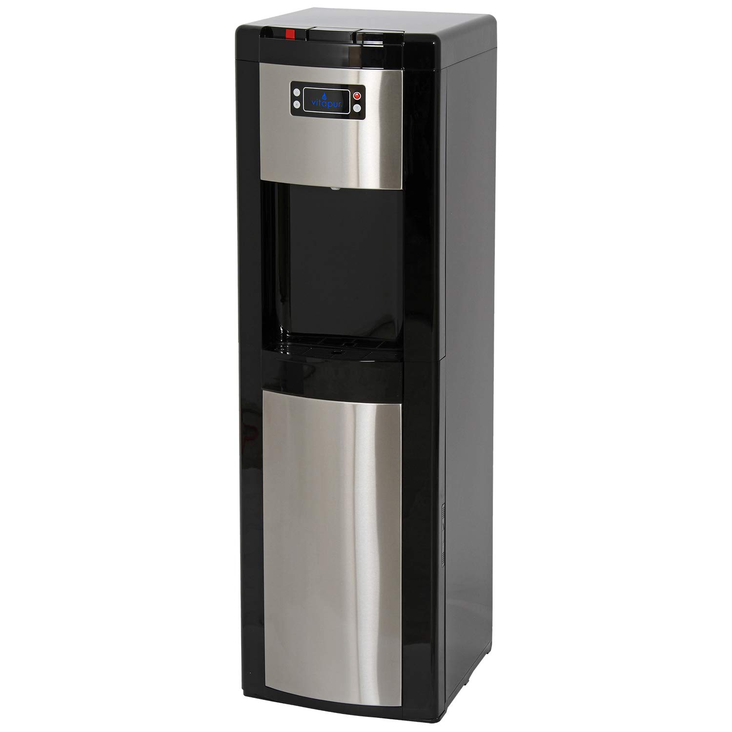 Vitapur VWD1066BLS Bottom Load (Hot, Room and Cold) Black/Stainless Steel Water Dispenser one size