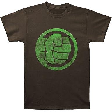 Amazon The Incredible Hulk Fist Bump Slim Fit T Shirt Size